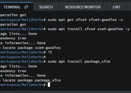 Unable to locate package xfce on my Ubuntu RDP