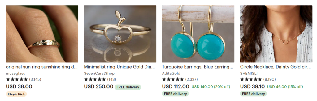 things to sell on etsy jewelry