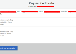 An error appears when I request an SSL certificate request failed : Web-based validation failed DNS-based validation failed